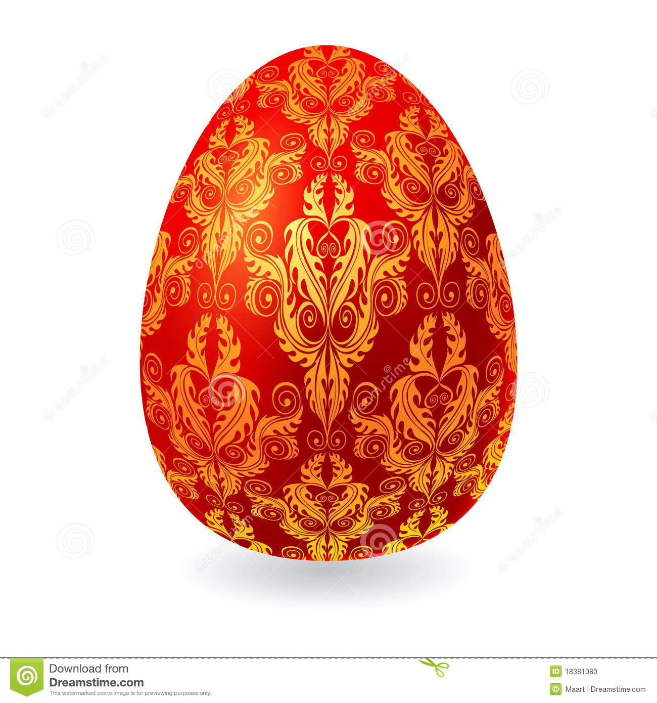 Easter Egg Stock Photo - Image: 18381080