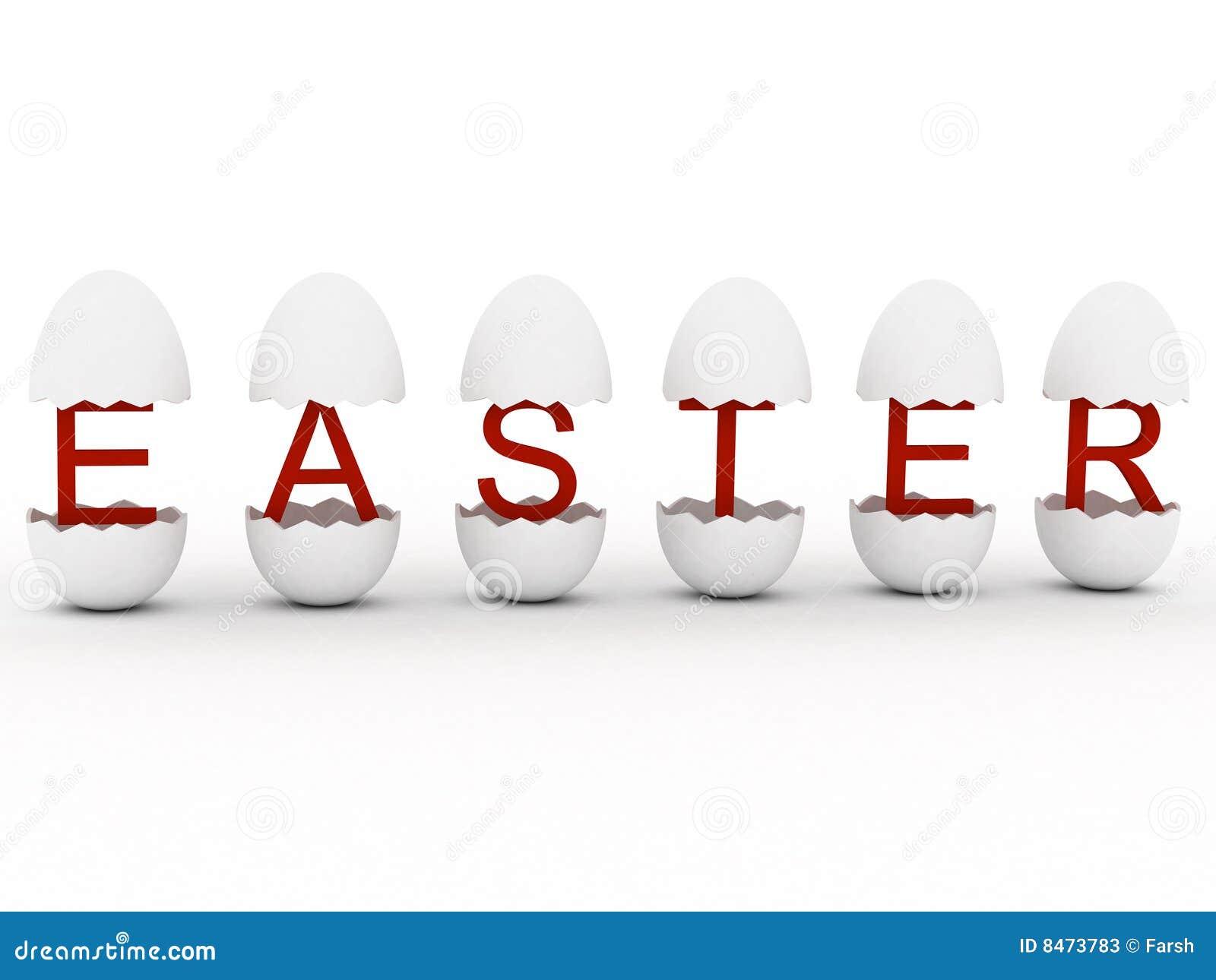 Easter in egg