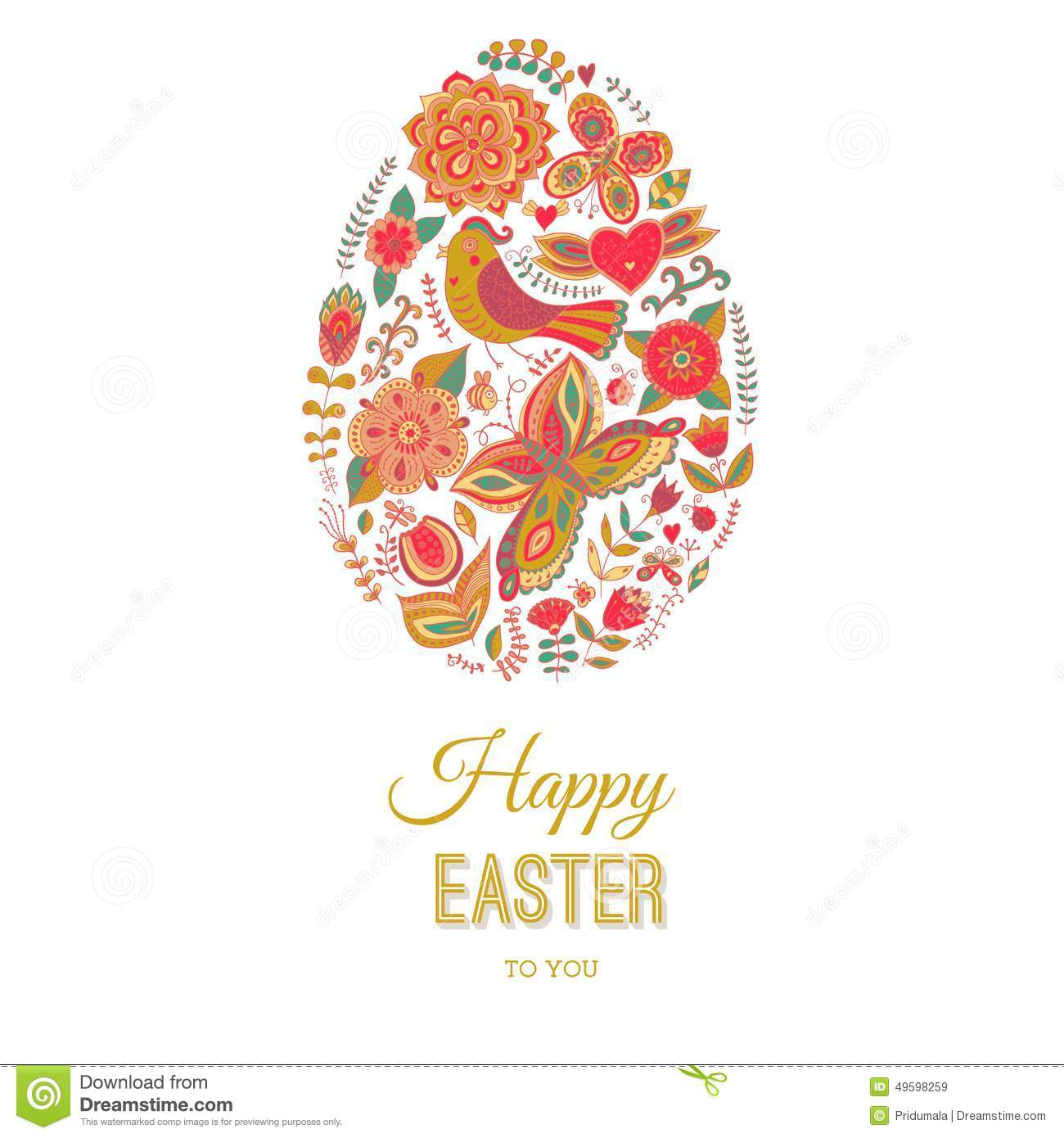 Easter Egg Card On Wood Floral Easter Egg Background Happy – Easter Cards