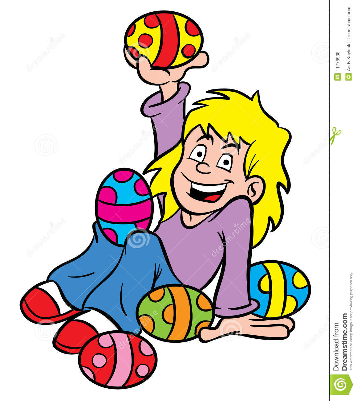 Easter Egg Girl Royalty Free Stock Photos - Image: 11778938