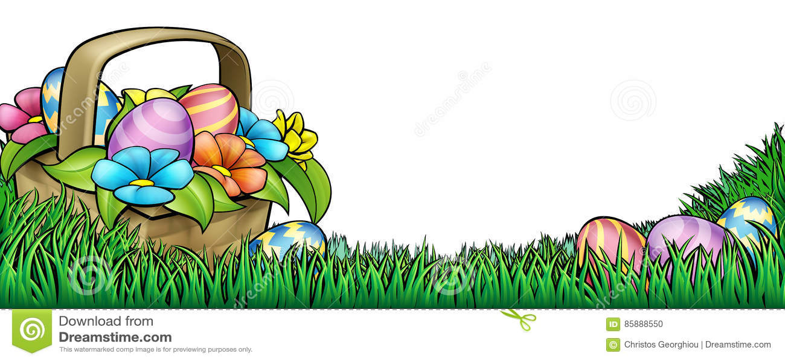 Easter Egg Hunt Background stock vector. Illustration of backdrop ...