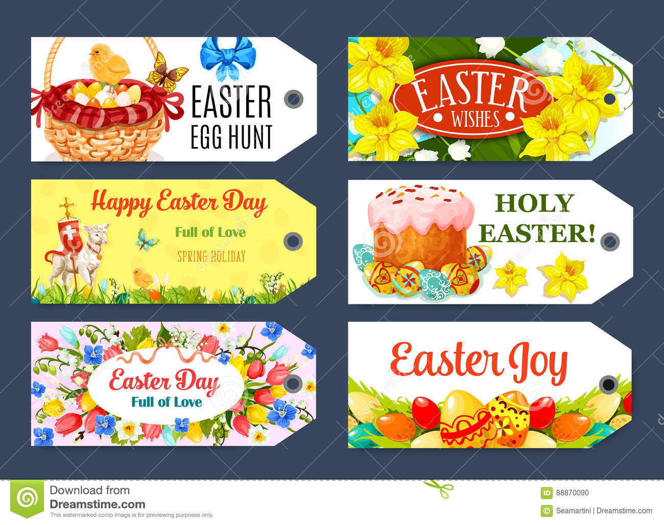 Easter egg hunt gift tag and label set design stock vector easter egg hunt gift tag and label set design royalty free vector negle Image collections