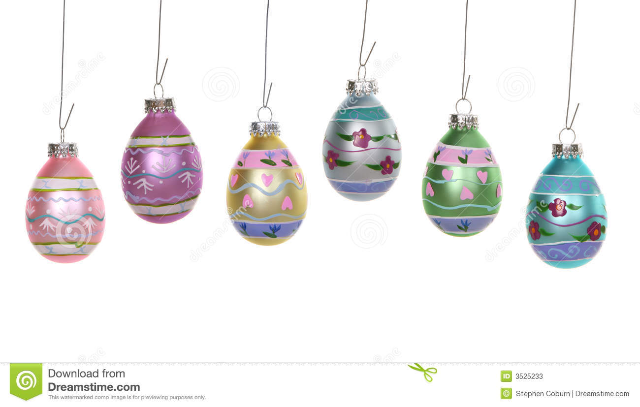 easter egg ornaments stock photos image 3525233