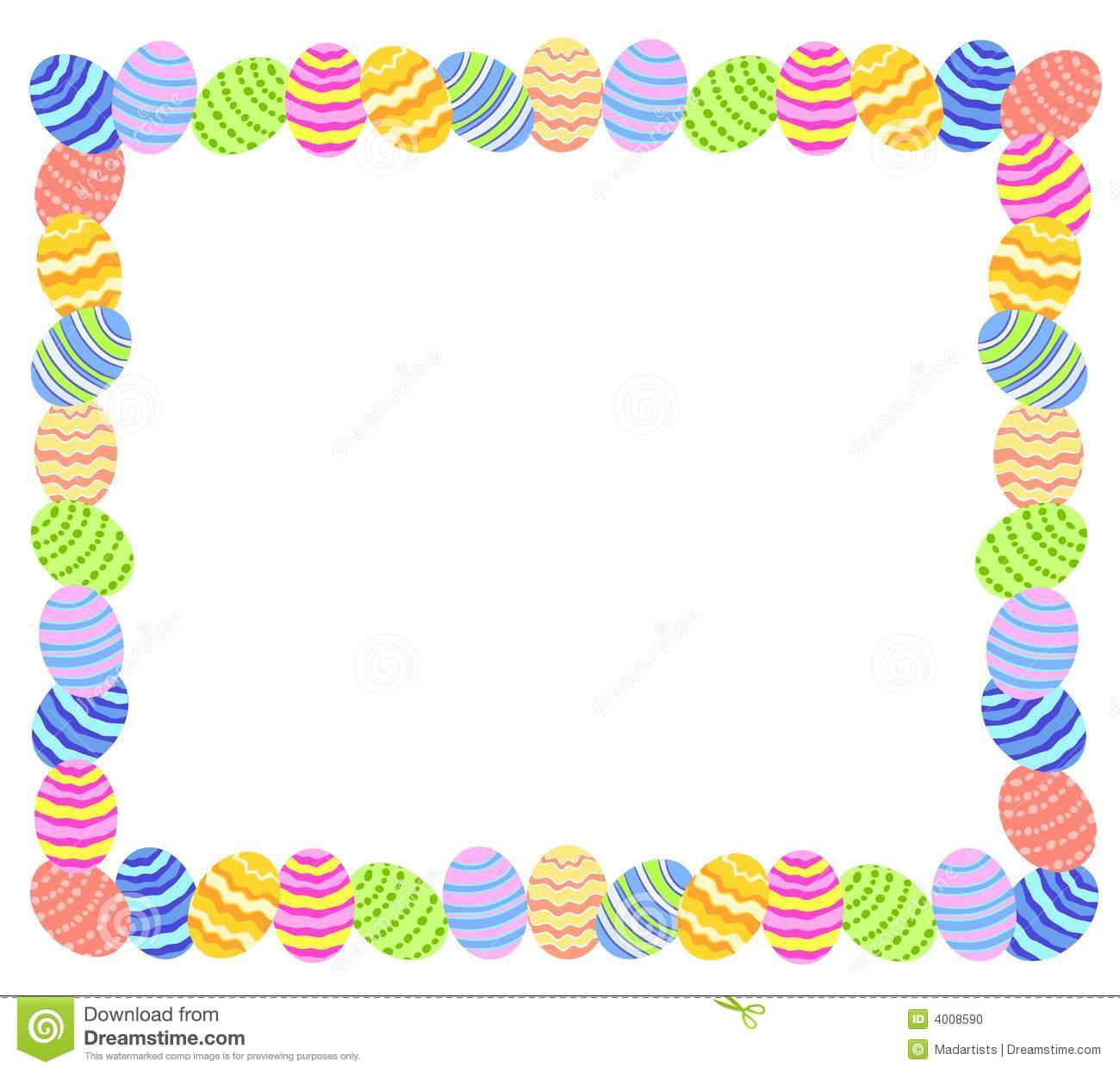 royalty free stock photo - Easter Frames