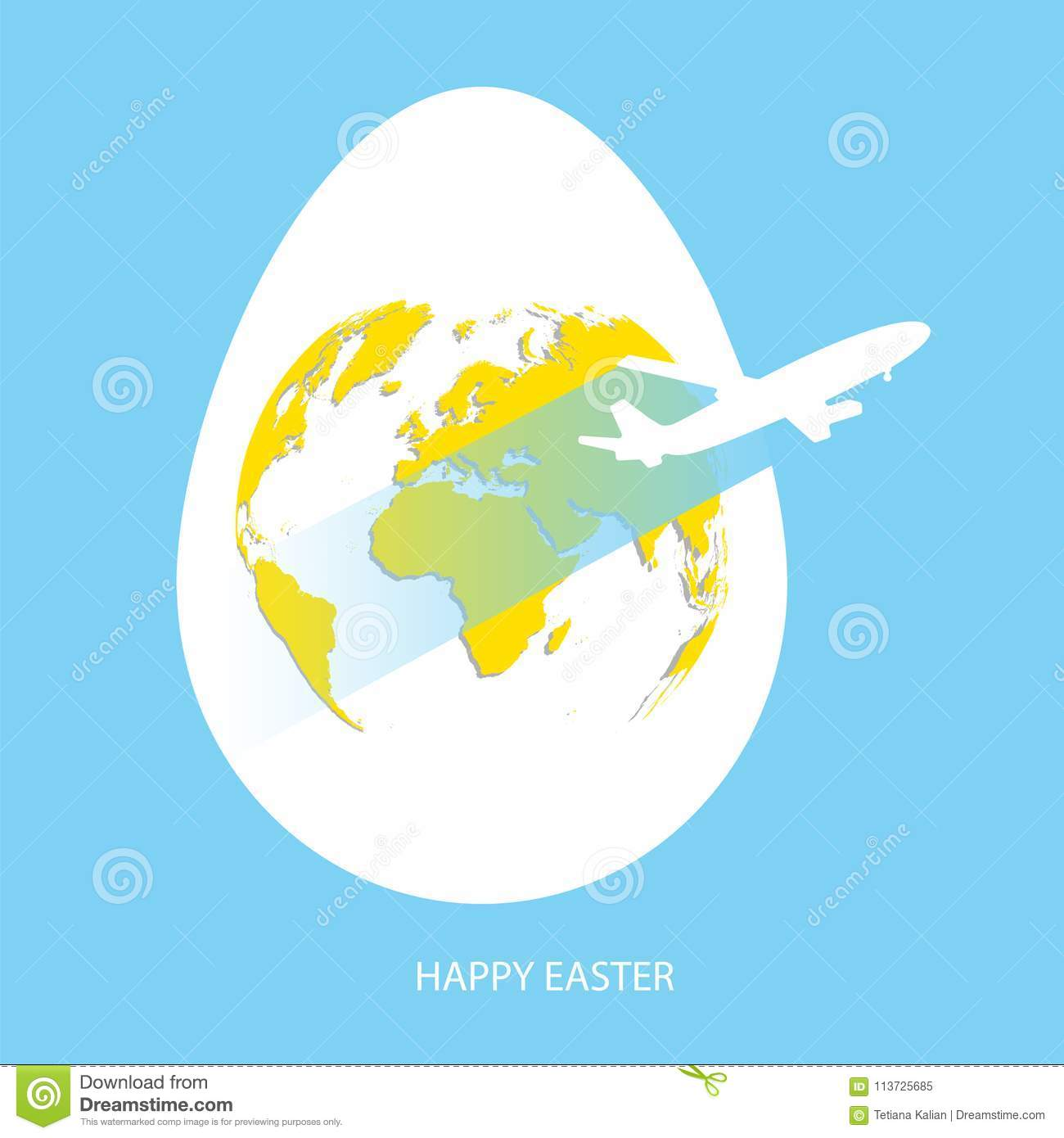 Easter egg yolk with yellow world map planet earth in egg shape on download easter egg yolk with yellow world map planet earth in egg shape on sky gumiabroncs Gallery