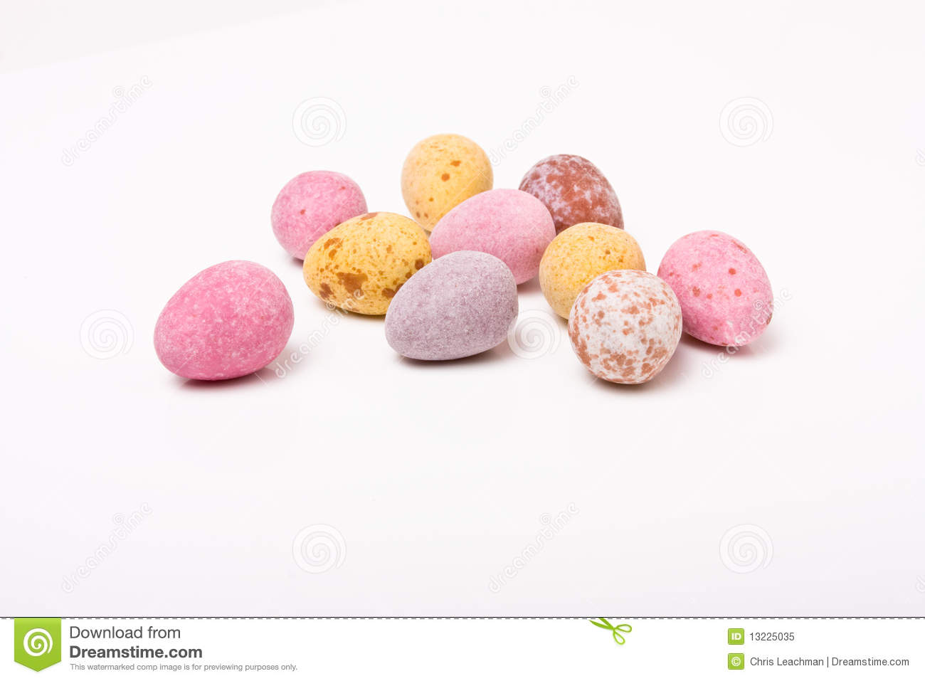 Easter Eggs Royalty Free Stock Photo - Image: 13225035