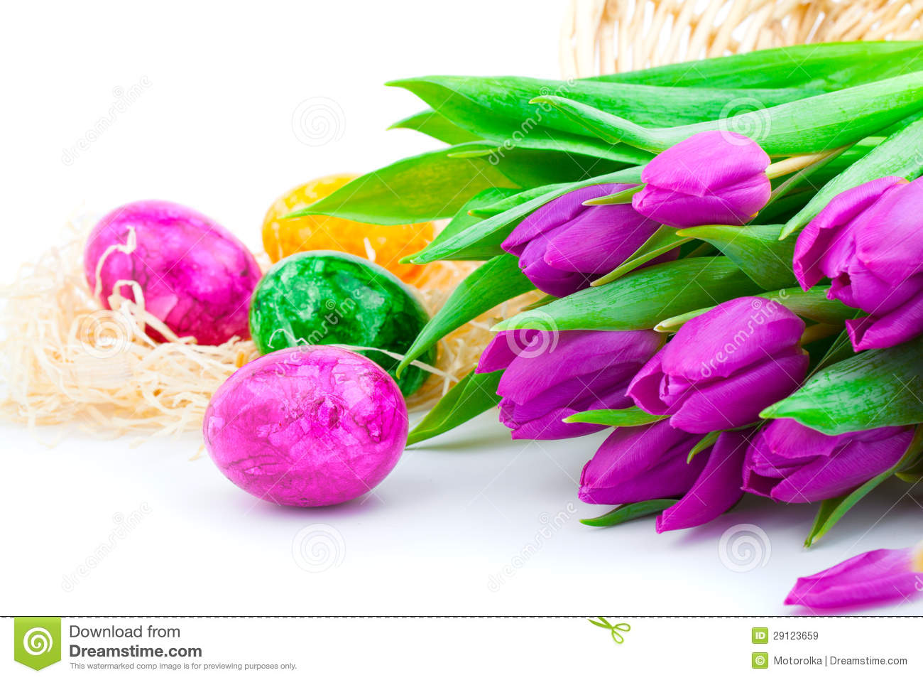 Download Easter eggs stock image. Image of food, eastereggs, gift - 29123659