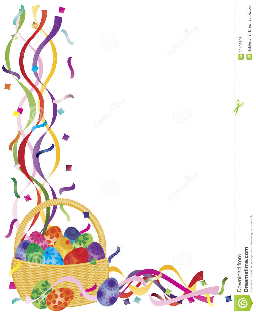free clip art borders for easter - photo #49