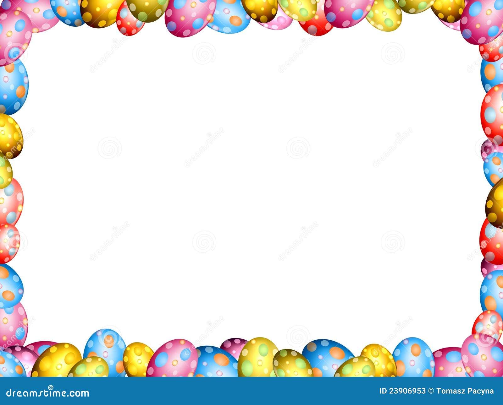 Easter Egg Border Clip Art Free