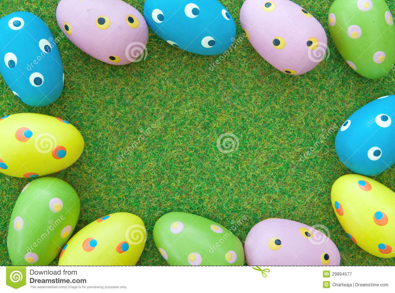 Easter Eggs Royalty Free Stock Photography - Image: 29894577