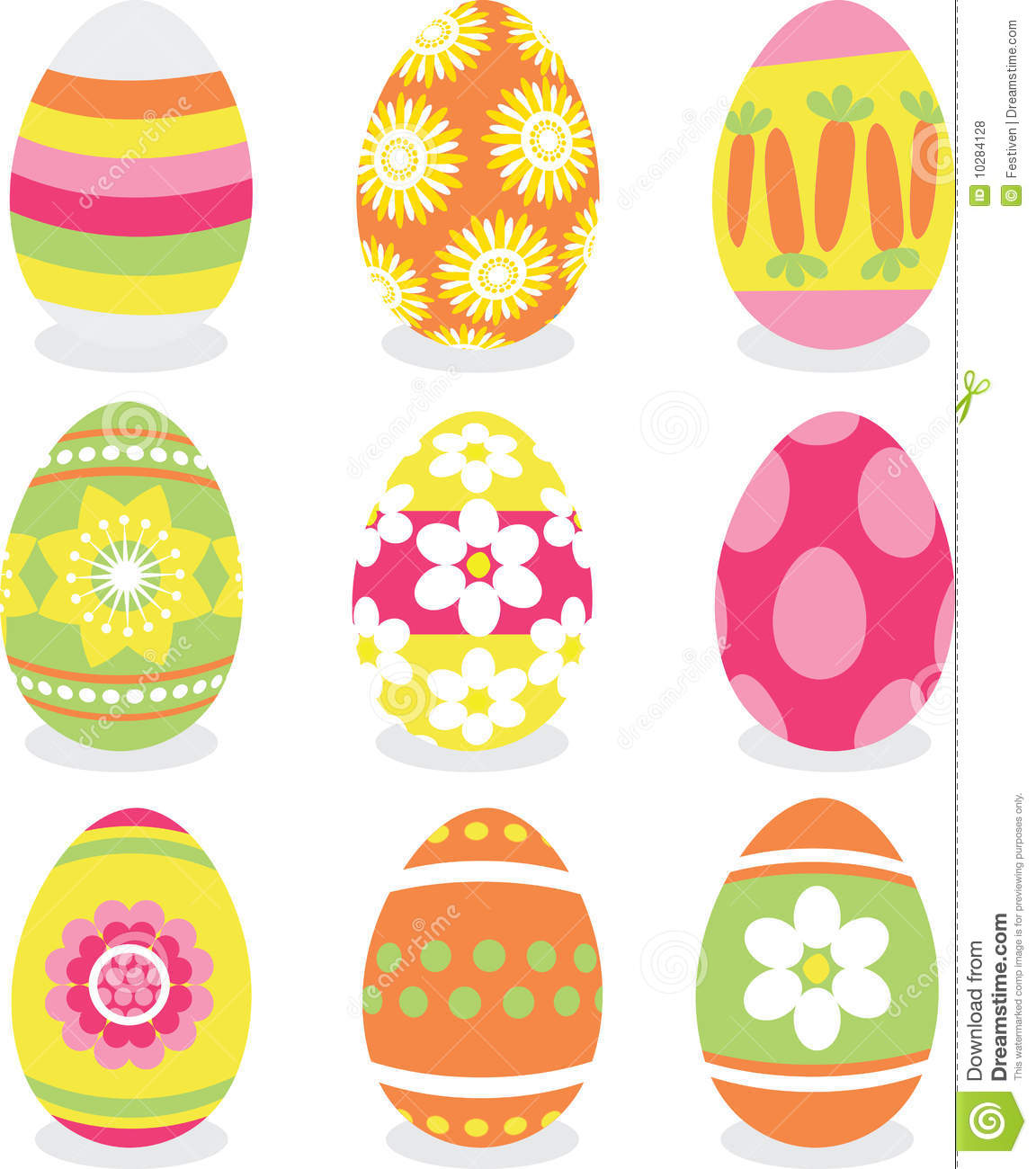 easter eggs icon set royalty free stock photos image. Black Bedroom Furniture Sets. Home Design Ideas