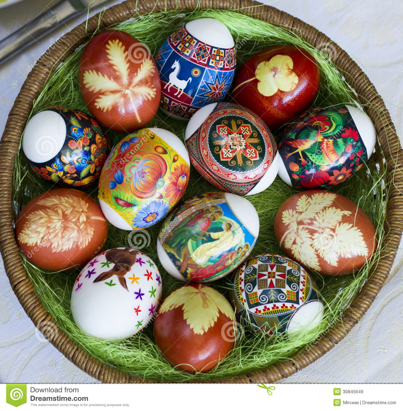 Easter Eggs Royalty Free Stock Images Image 30845649