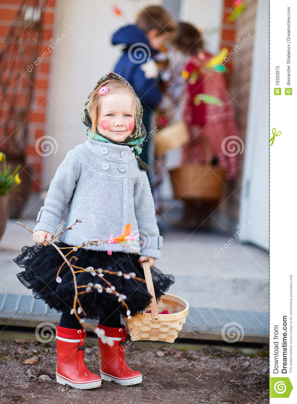 Easter Finnish Traditions Stock Image Image Of Female