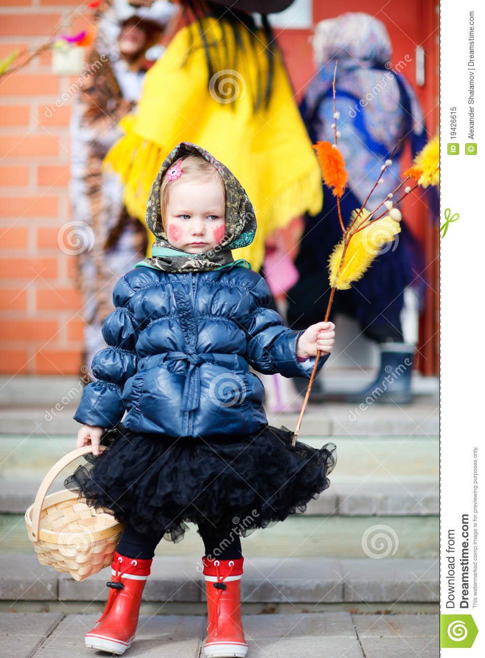Easter Finnish Traditions Royalty Free Stock Photo - Image: 19426615