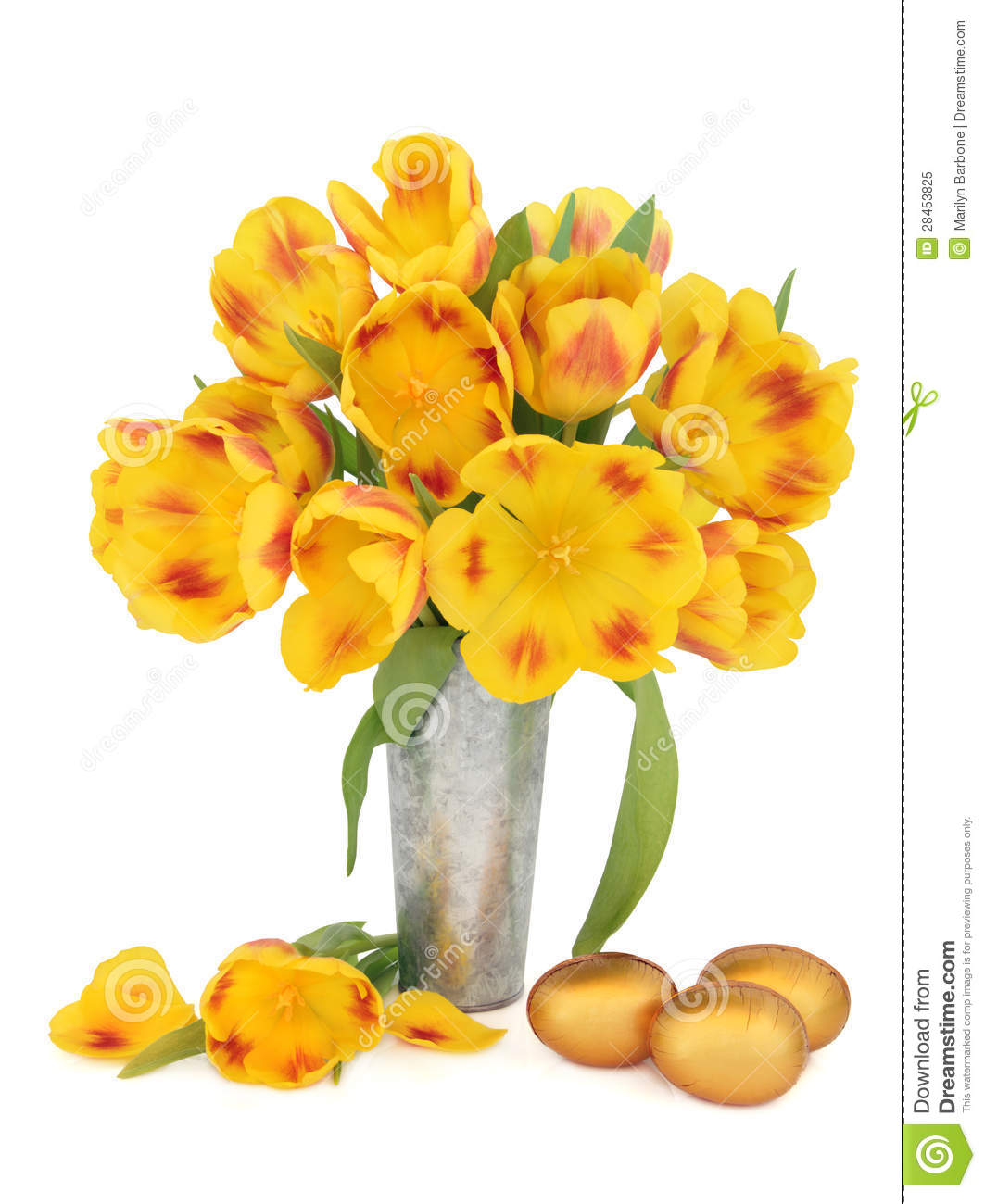 Easter Flowers Stock Image Image Of Tulip Colorful 28453825