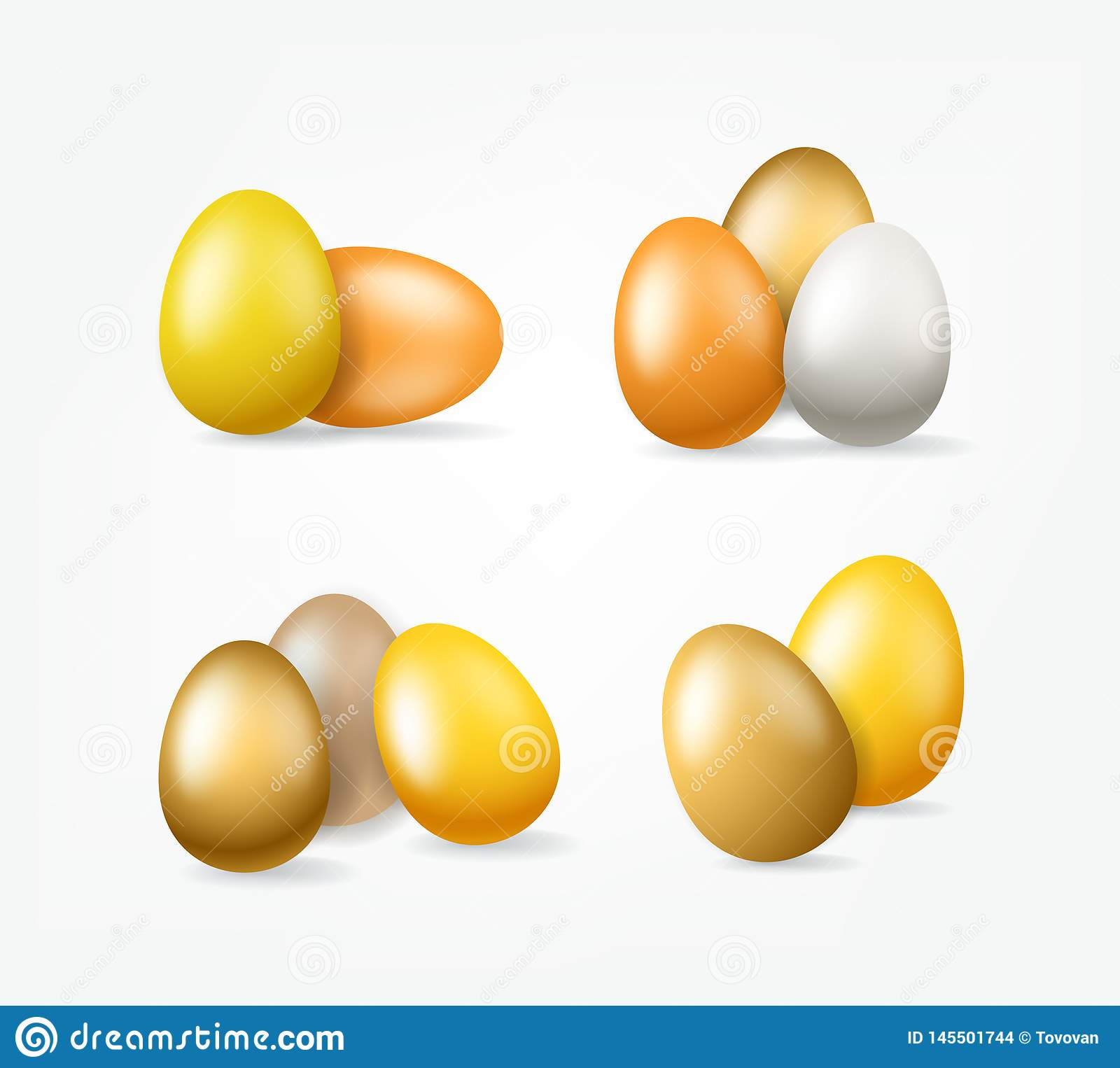 Easter Golden Eggs Clipart Isolated On White Background Stock Vector Illustration Of Beautiful Realistic 145501744 Pngtree offers egg eggs clipart png and vector images, as well as transparant background egg eggs clipart clipart images. https www dreamstime com easter golden eggs clipart isolated white background easter golden eggs clipart isolated white background vector image145501744