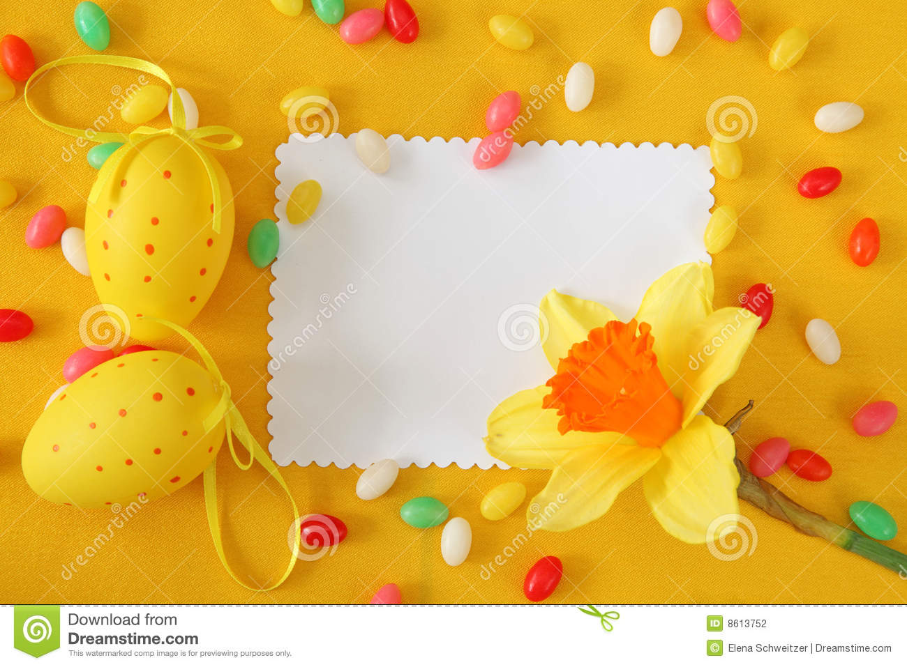 Easter greeting card stock photo image of note narcissus 8613752 easter greeting card note narcissus kristyandbryce Choice Image