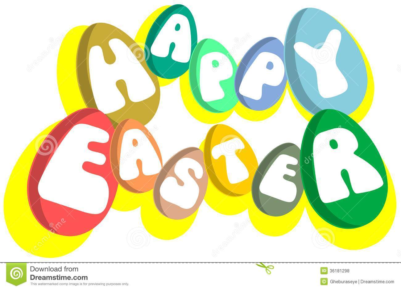 Easter Greeting Words Images Greetings Card Design Simple