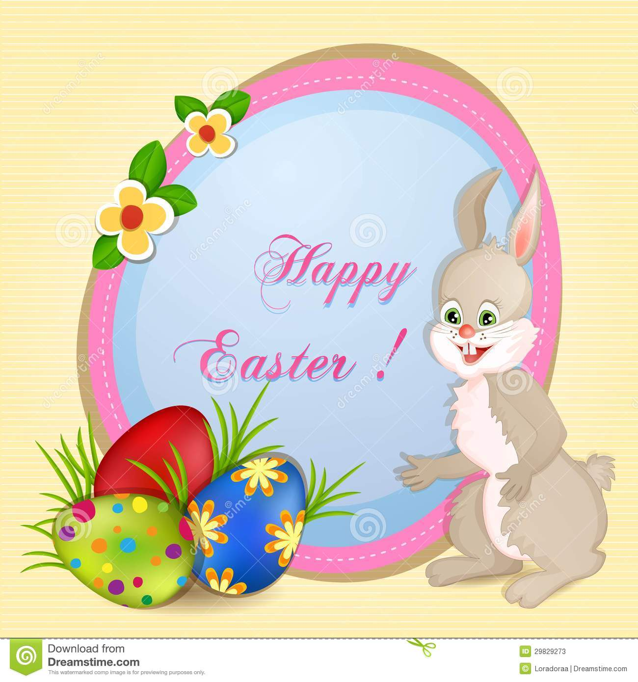 Easter Greeting Card Stock Photos - Image: 29829273
