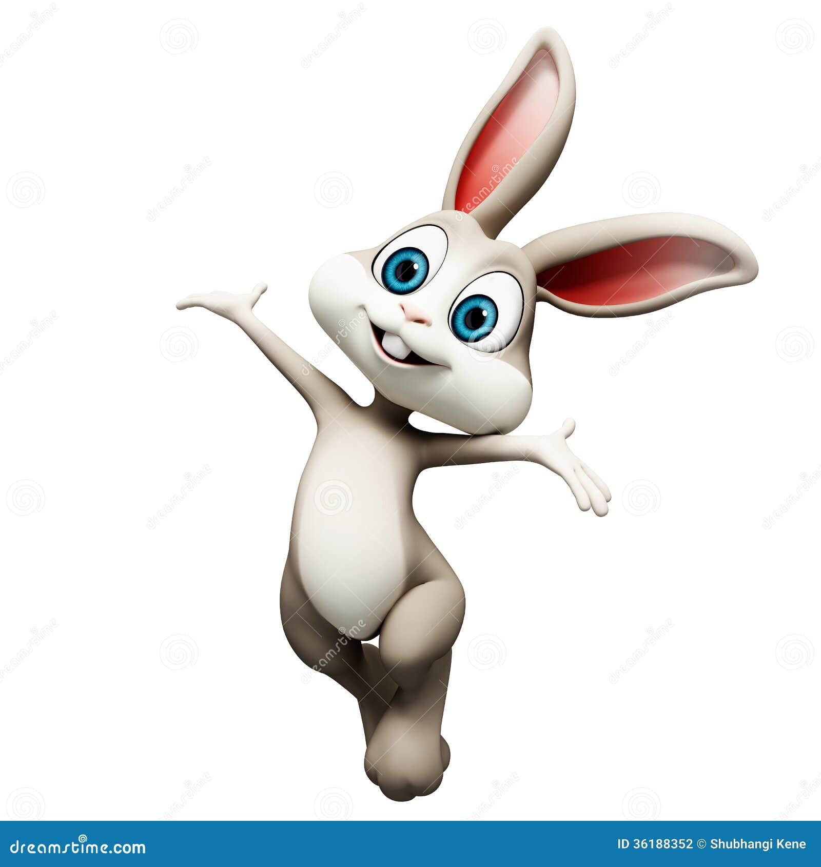 Easter happy bunny