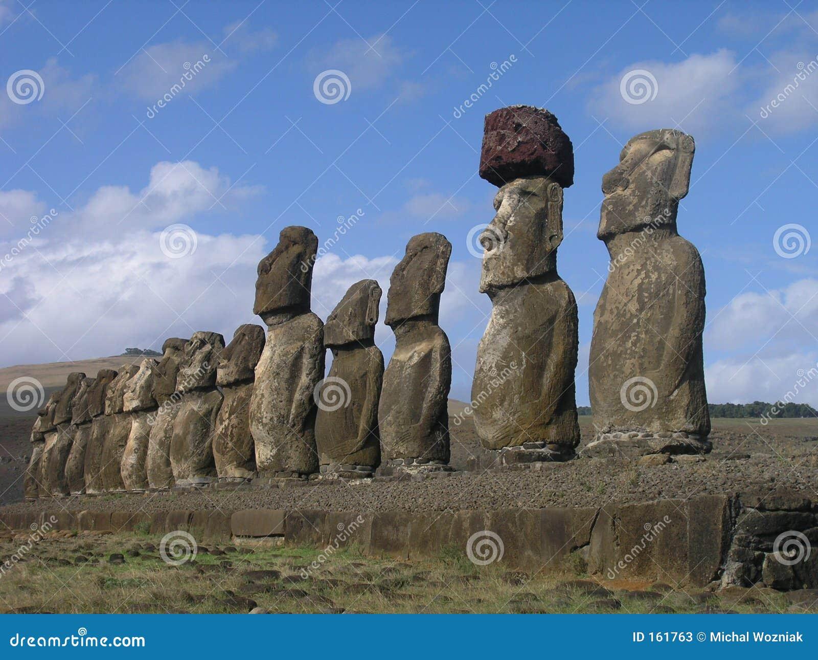 Easter Island - Ahu Tongariki