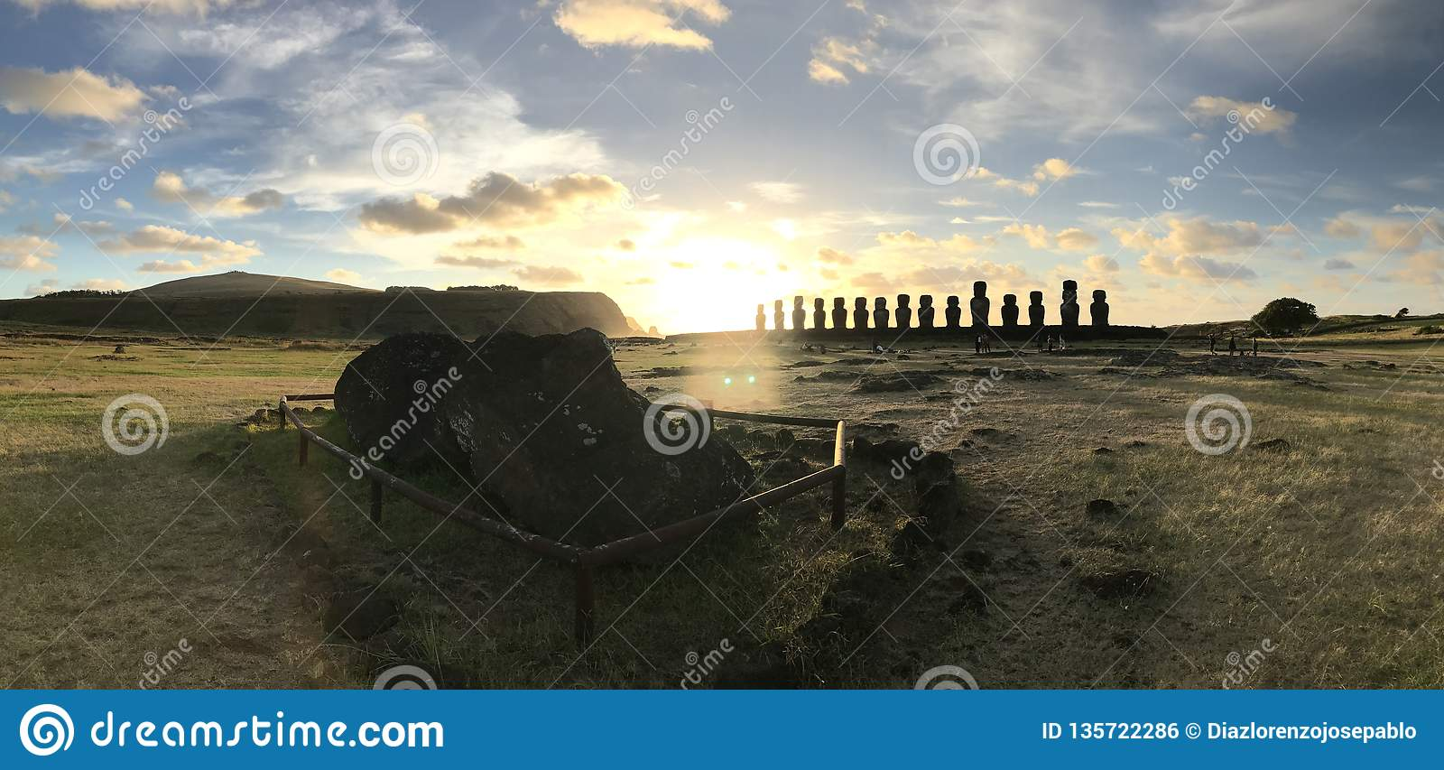 Easter Island - Rapa Nui - AHU TONGARIKI - JPDL