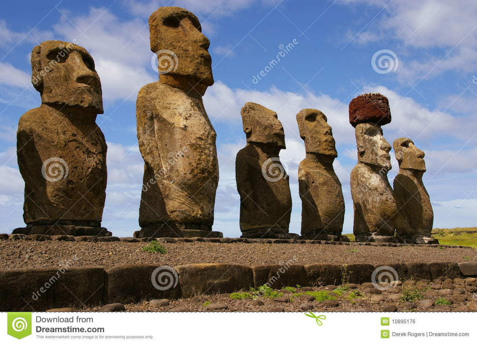Статуя острова пасхи своими руками 50