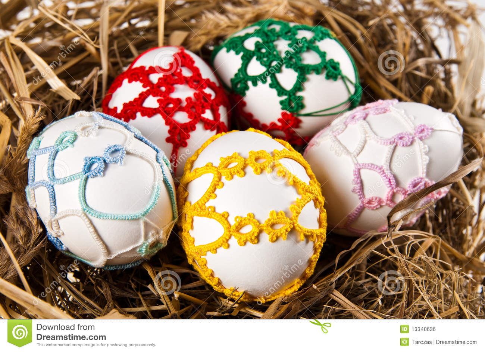 Easter jajek gniazdeczko