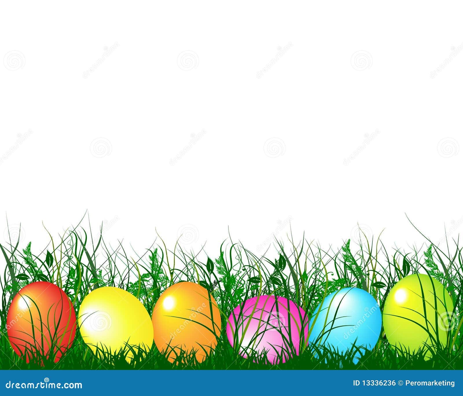 Easter jajek gras zieleń