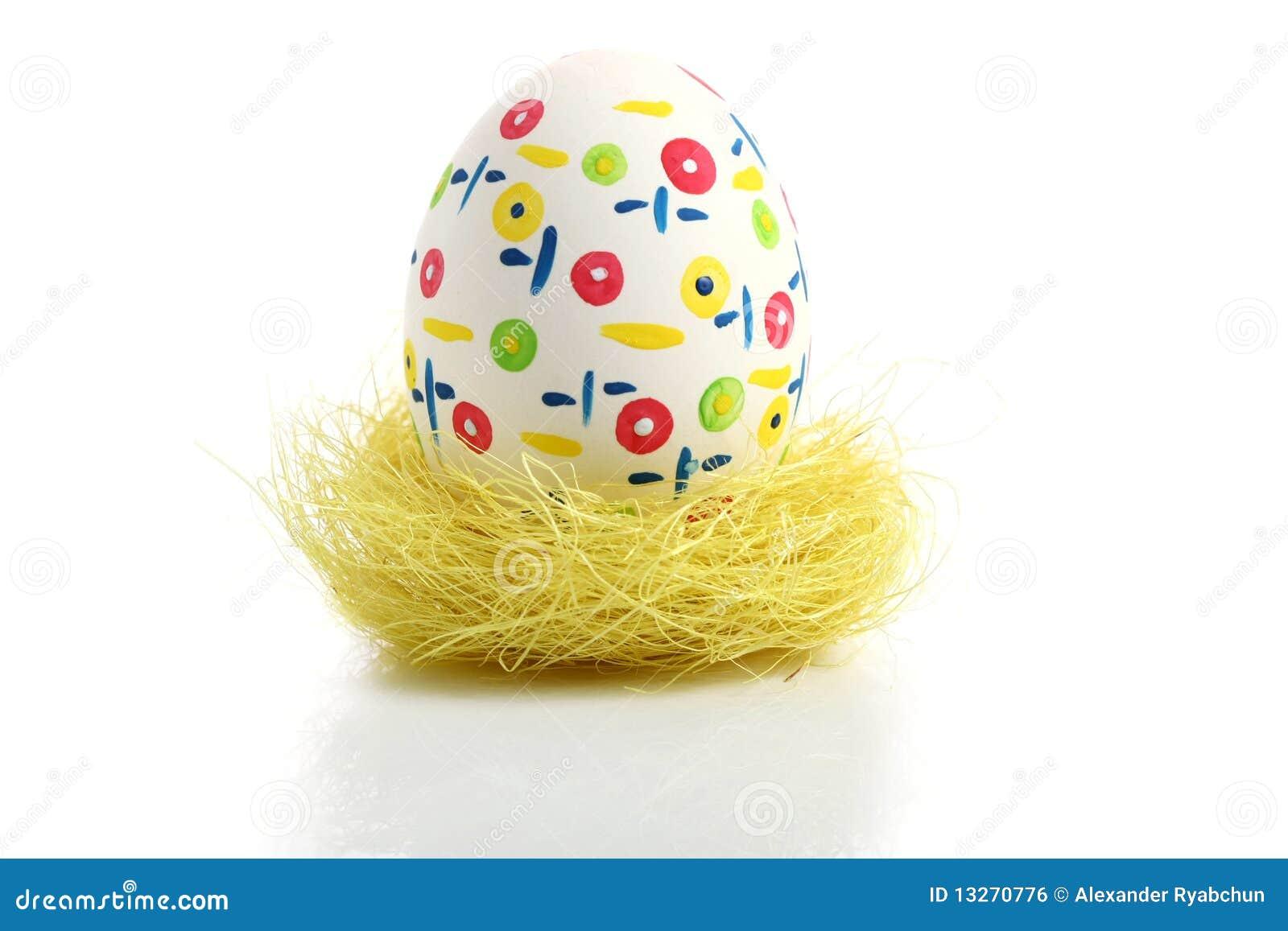 Easter jajka gniazdeczko