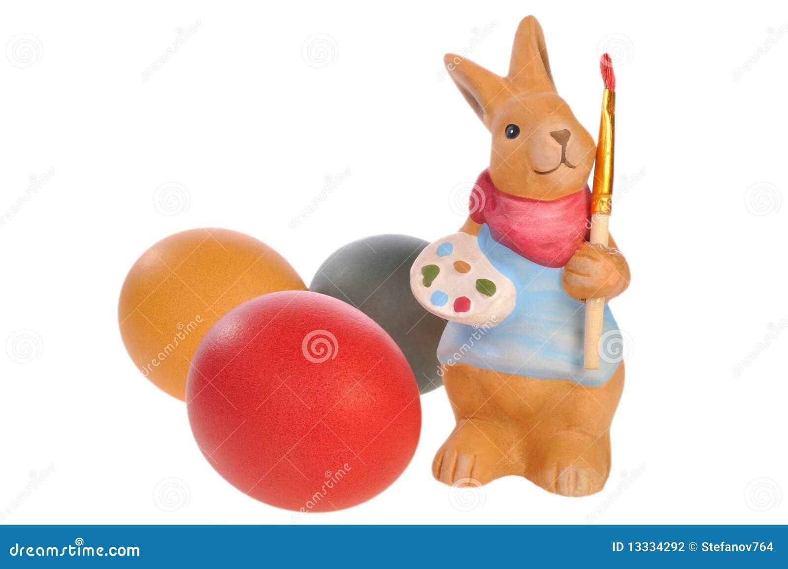 Easter jajka królik