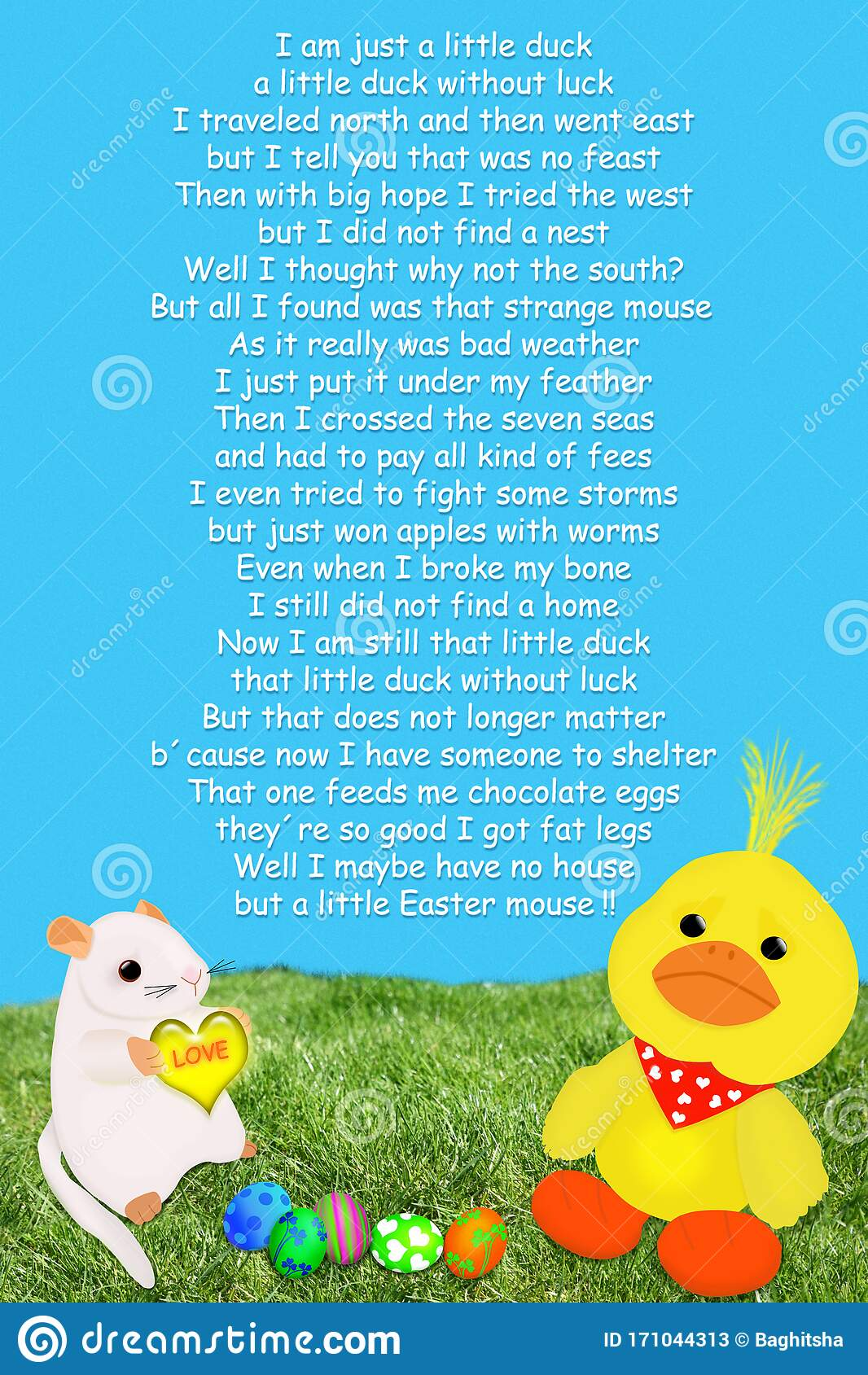 True blue friend poem