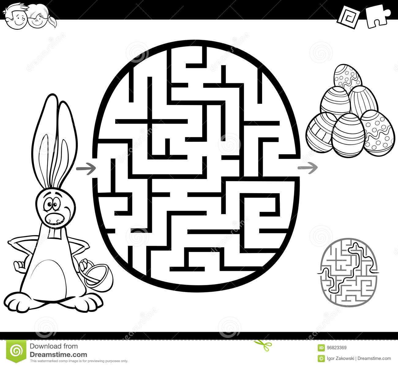 Free Printable Easter Bunny Coloring Pages Activity Page | 1199x1300