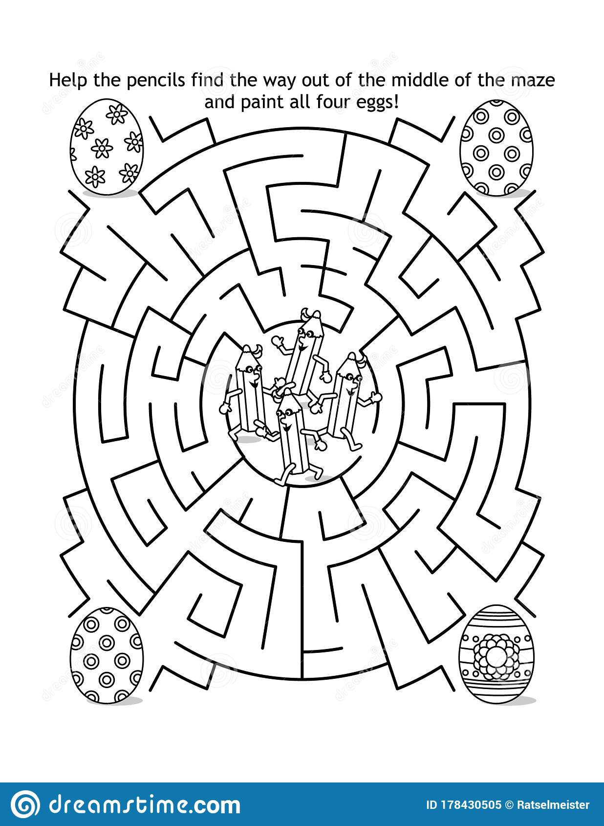 Easter Mazes - Best Coloring Pages For Kids | 1689x1236