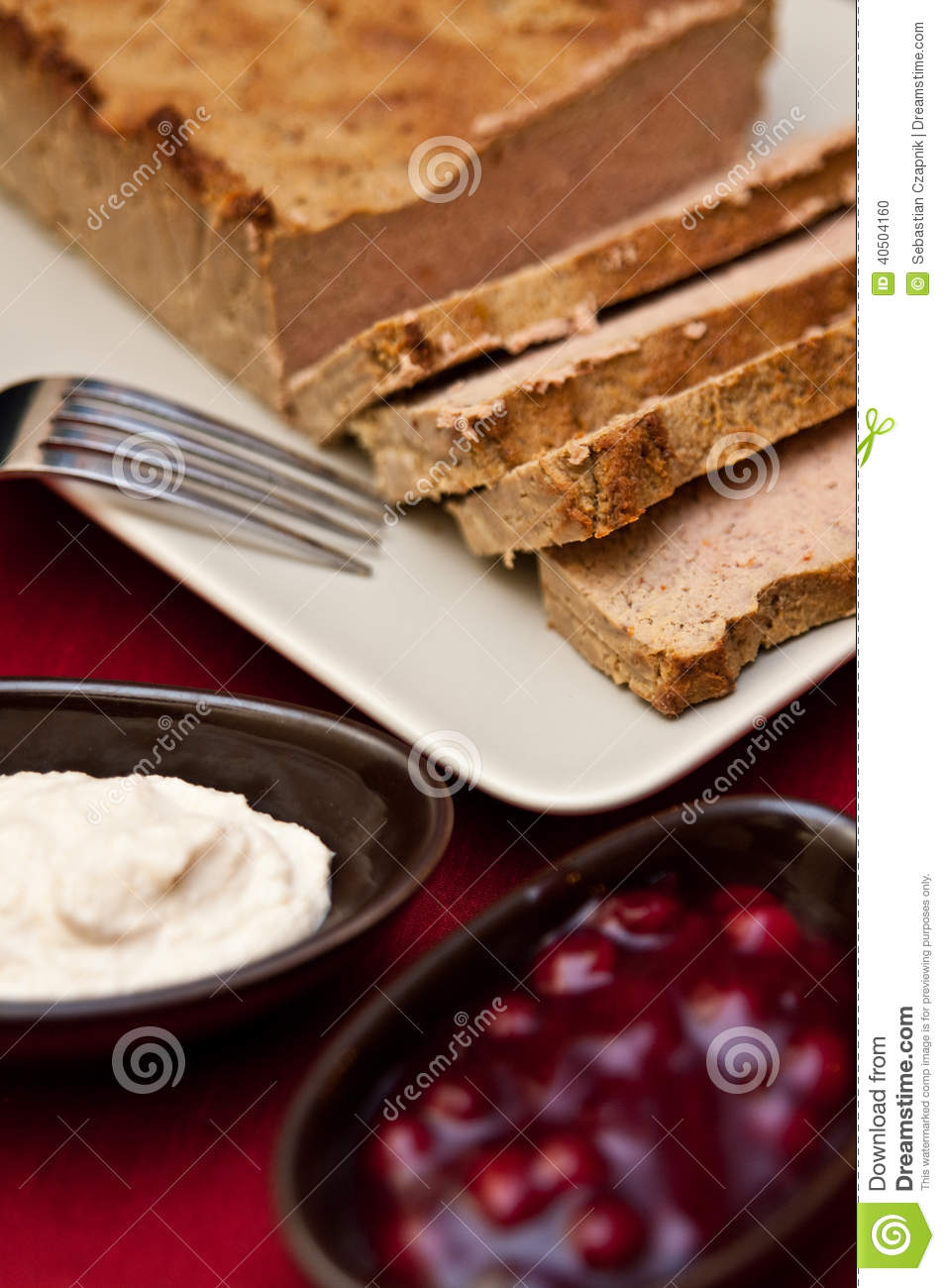 easter pate food composition stock photo image 40504160