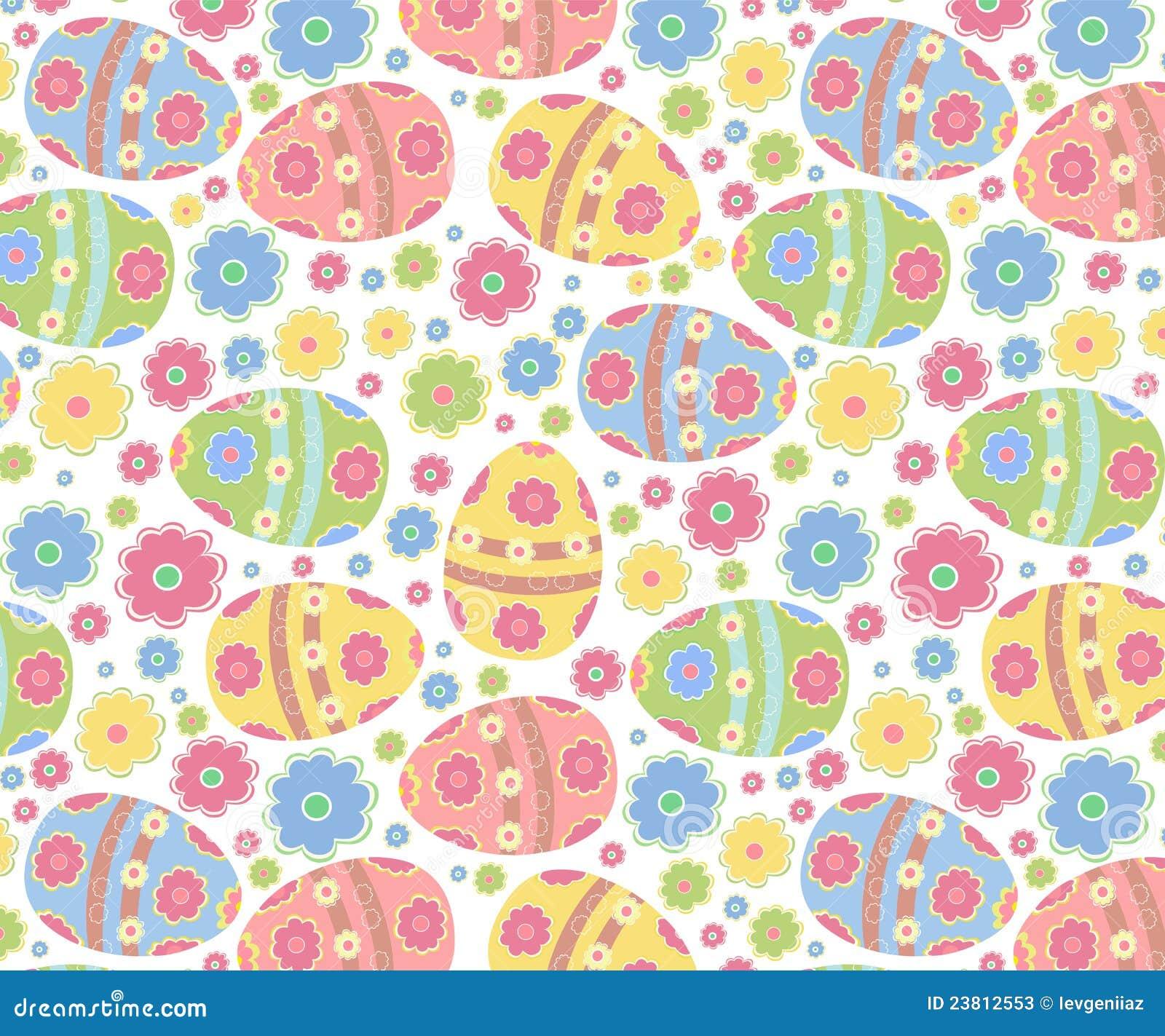 easter pattern stock vector illustration of element 23812553