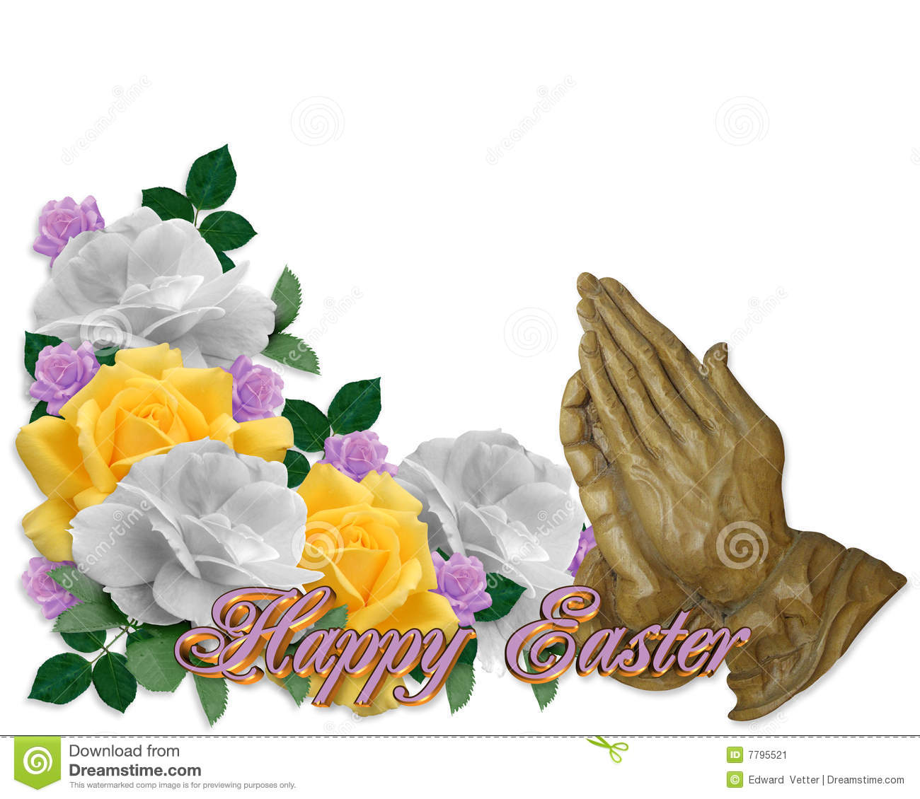 easter praying hands religious stock image image 7795521