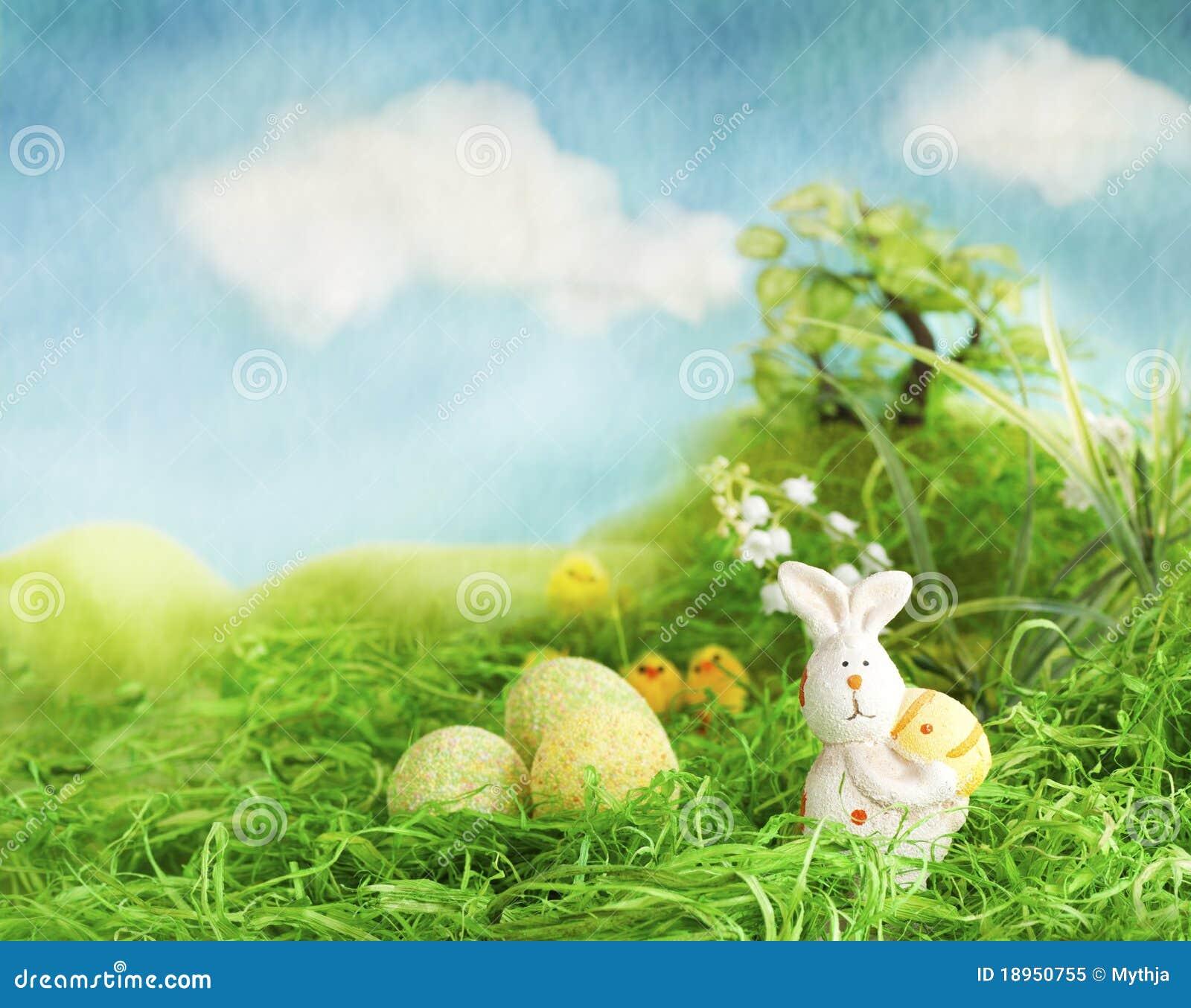 Easter Scene Royalty Free Stock Photo - Image: 18950755