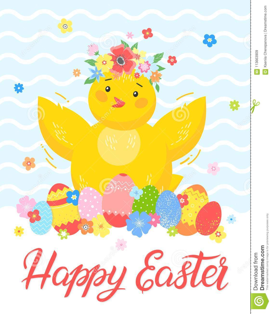 Easter seasons greetings card stock illustration illustration of download easter seasons greetings card stock illustration illustration of happy christian 113663909 m4hsunfo