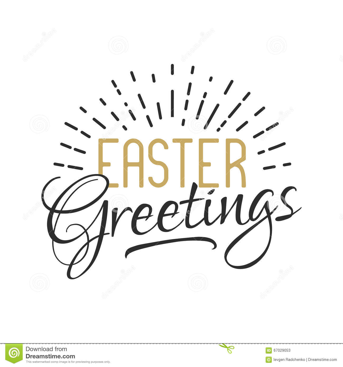 Easter Sign Easter Greetings Easter Wishes Overlay Lettering