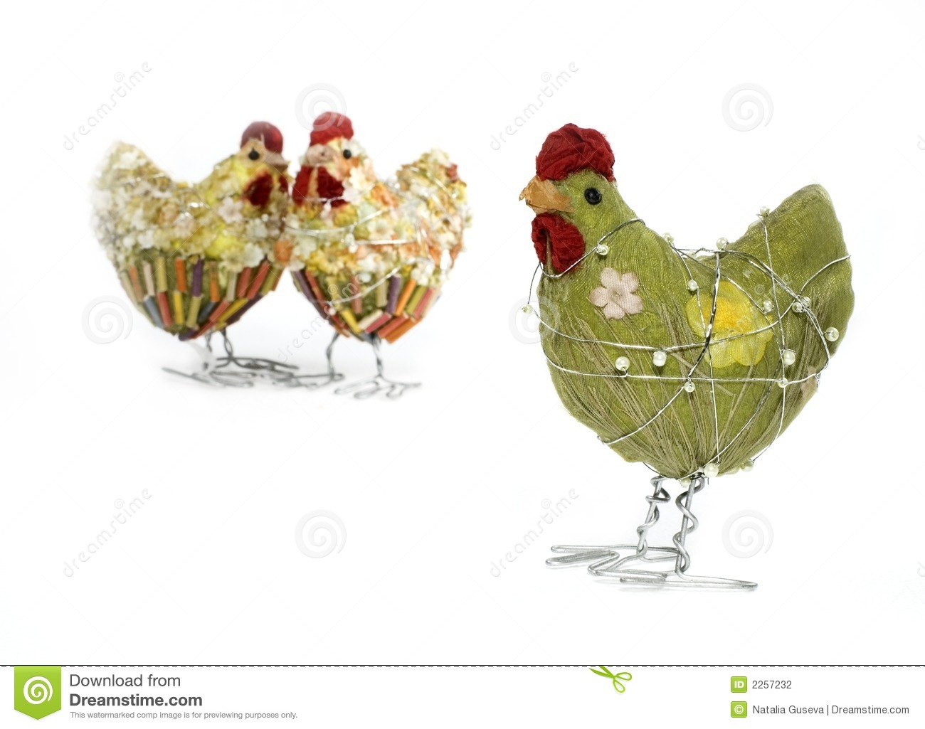 Easter Spring Chicken Decor Stock graphy Image