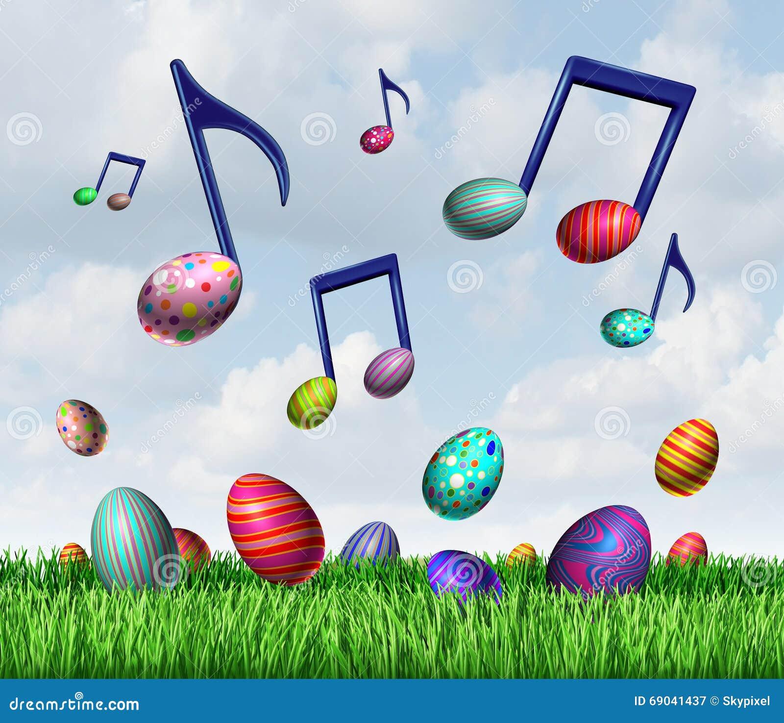 ... notes representing a happy joyful springtime traditional celebration