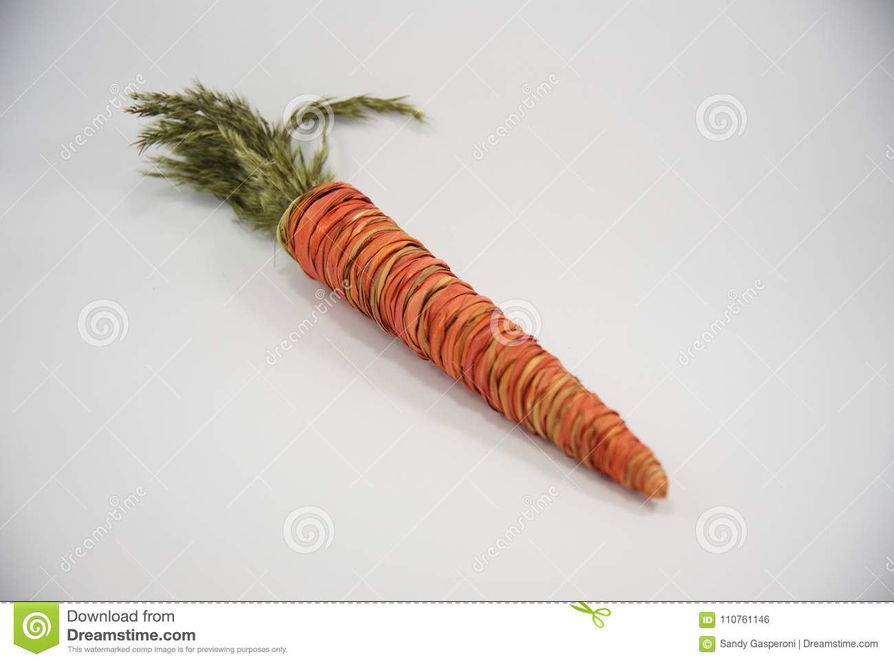 Easter Straw Decorative Carrot 32rd Stock Photo   Image of pastel ...