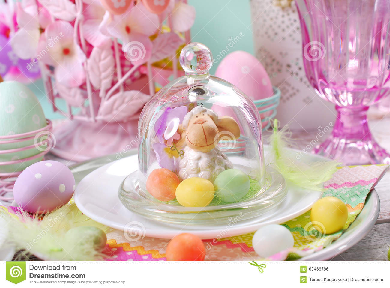 Easter Colors Decoration