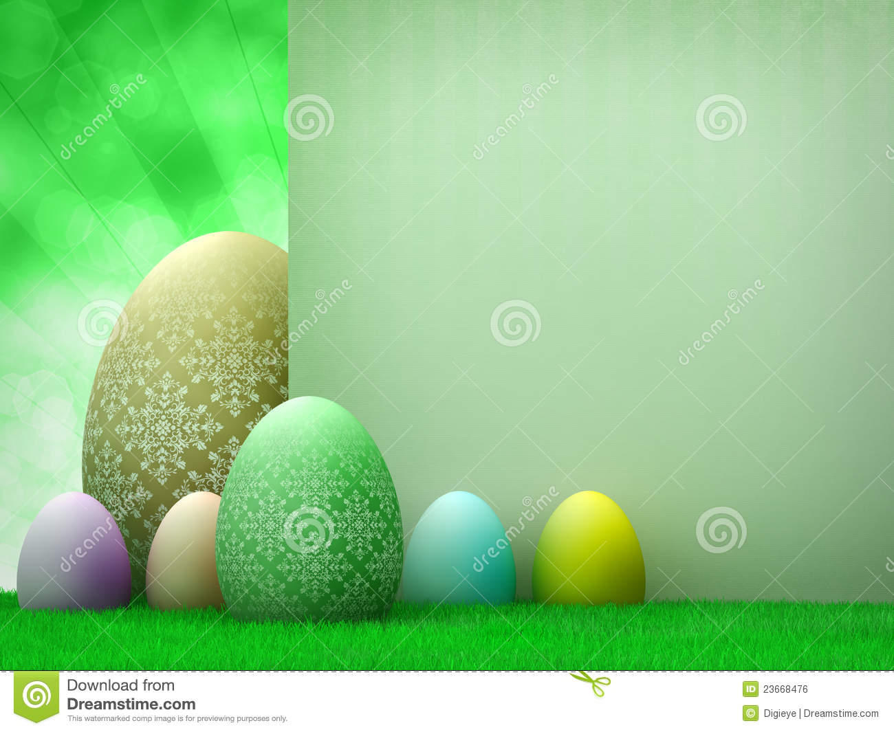 Easter Template Design - Easter Eggs Stock Photo - Image of symbol ...