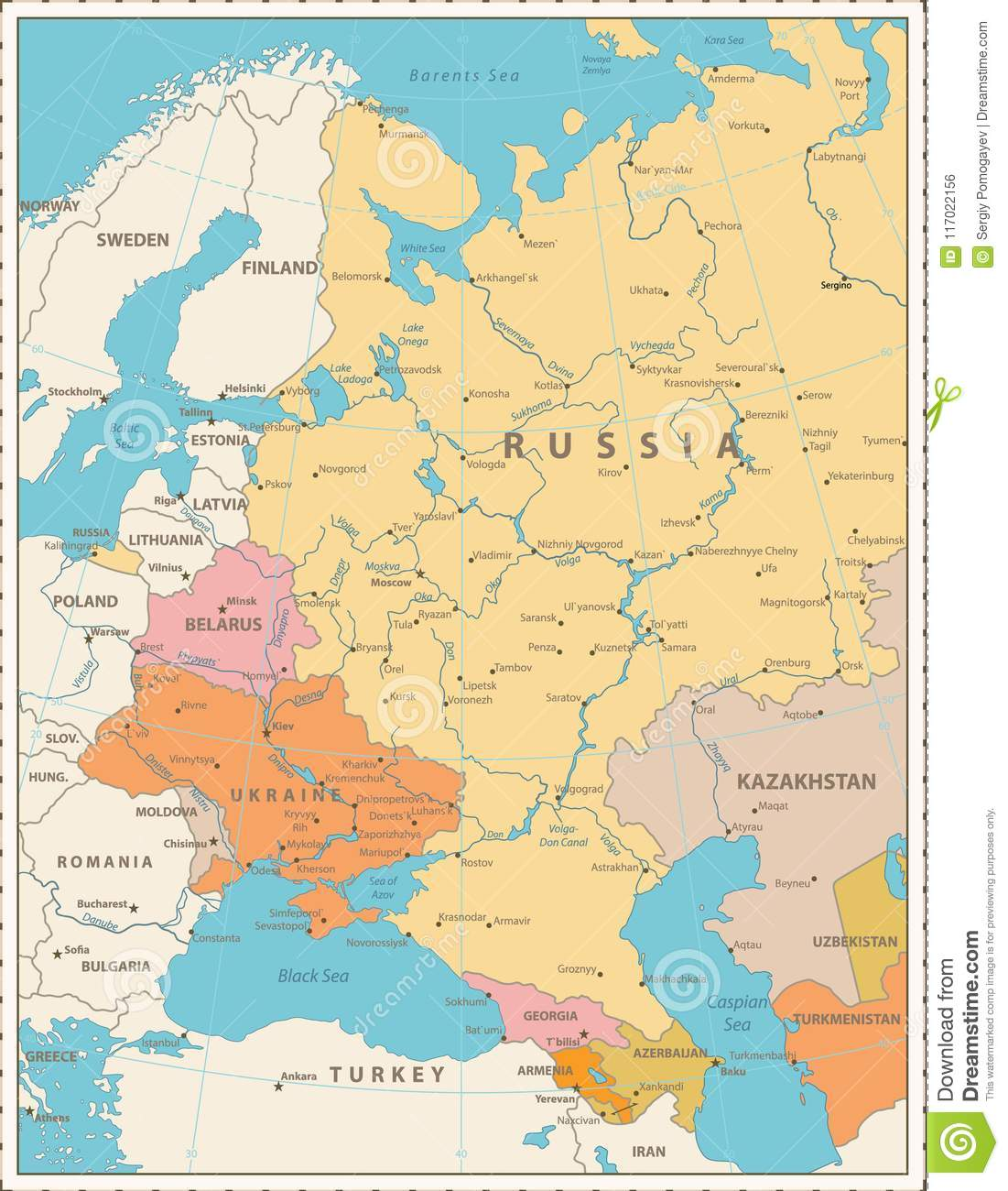 Eastern Europe Political Map Retro Colors Stock Vector ... on topological map of eastern europe, geography map of eastern europe, geopolitical map of central europe, geological map of eastern europe, tactical map of eastern europe, history map of eastern europe, ethnic map of eastern europe, ecological map of eastern europe, strategic map of eastern europe,