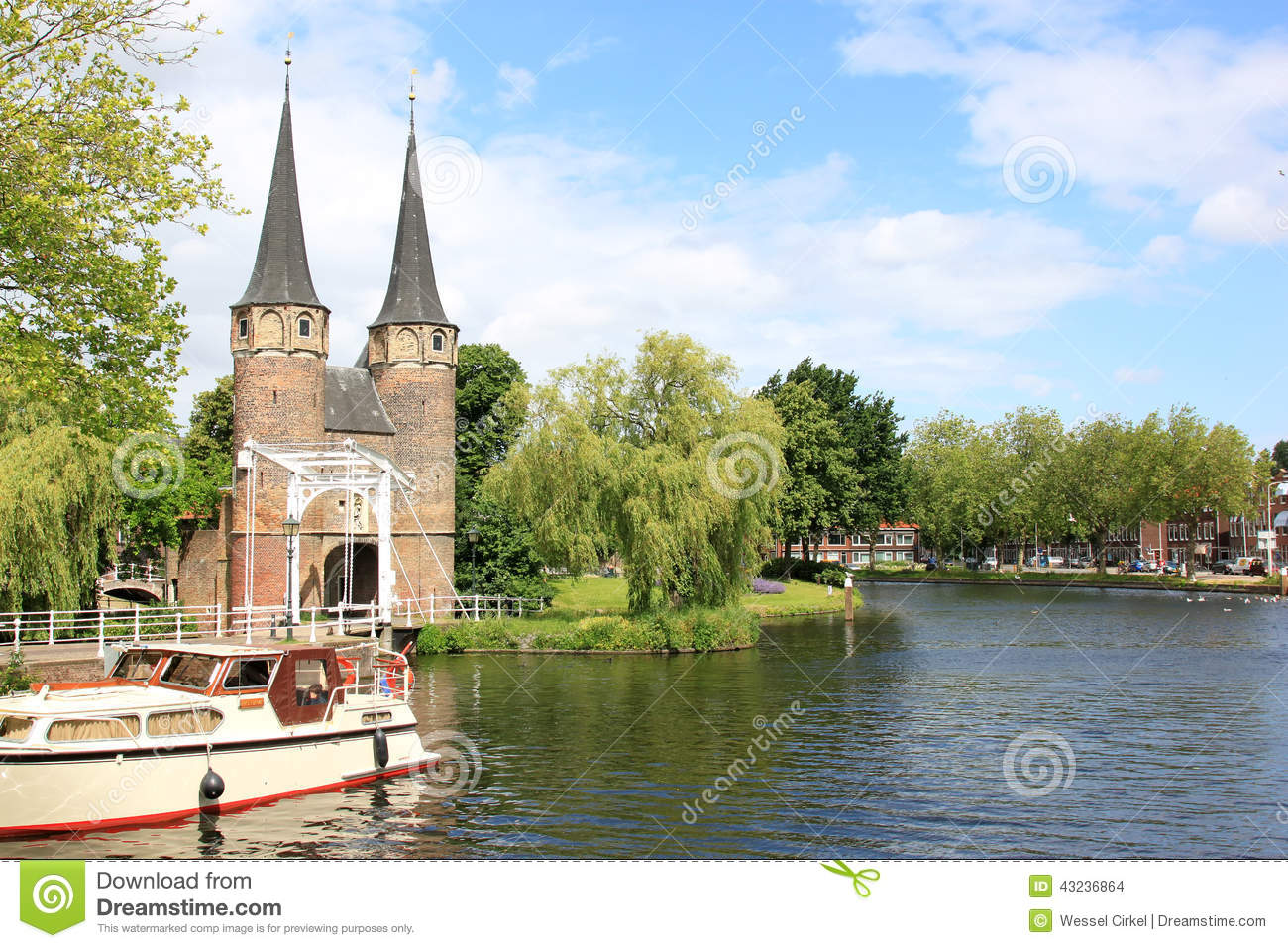 Eastern Gate and Rhine-Scheldt Canal, Delft