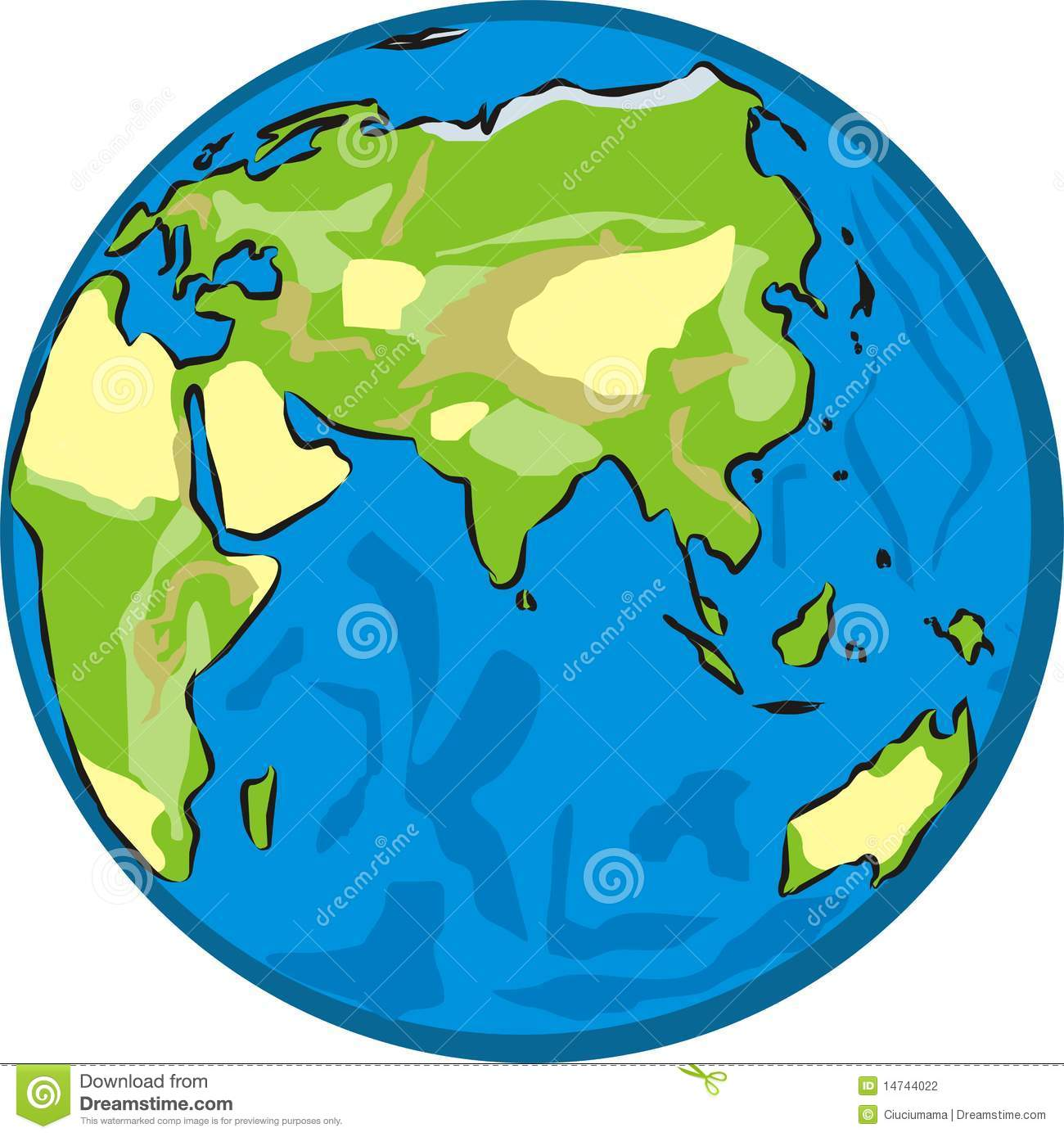 Earth Physical Map Physical map, continen...