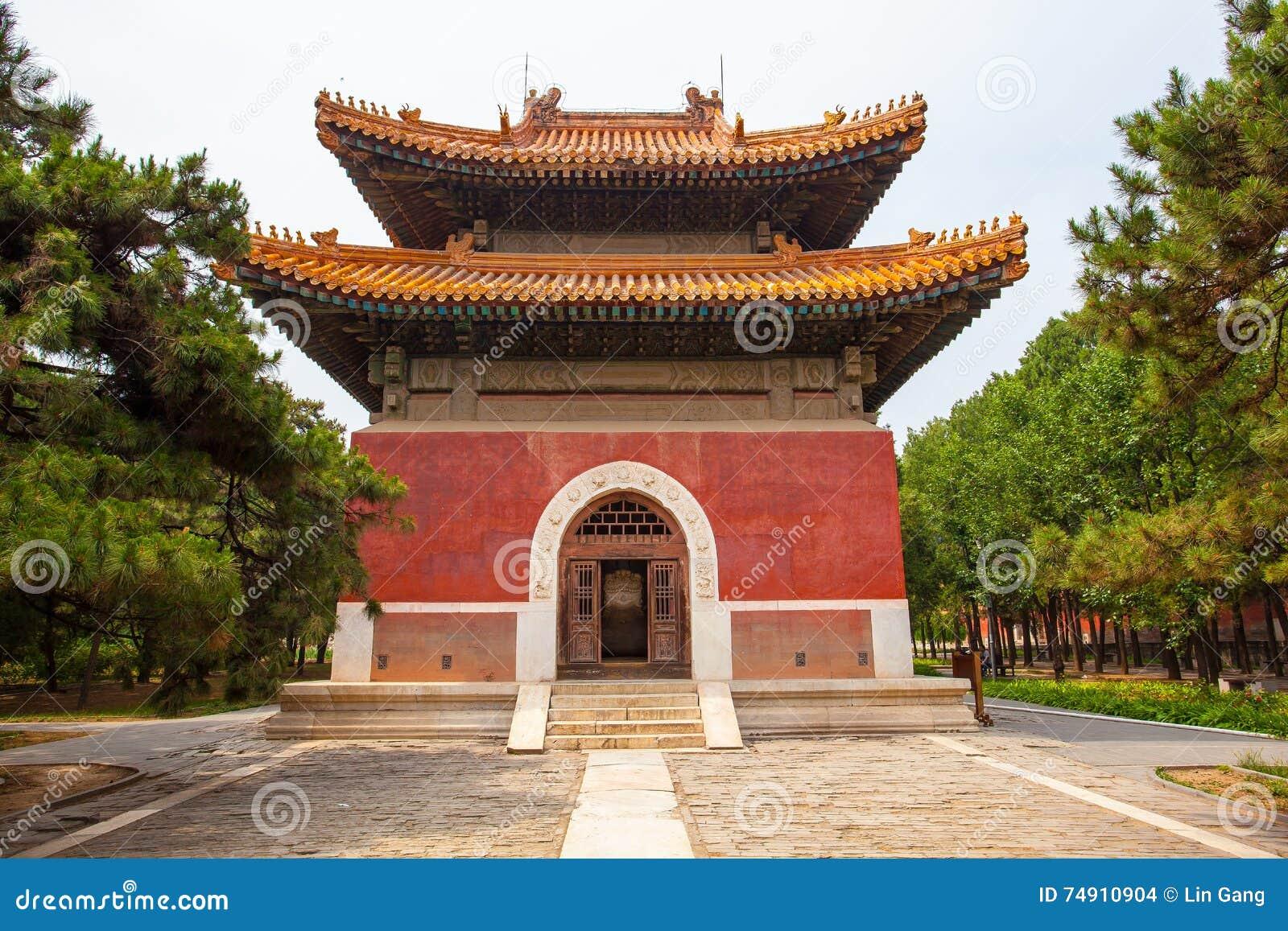 Eastern Qing Mausoleums- Cixi Mausoleum scenery