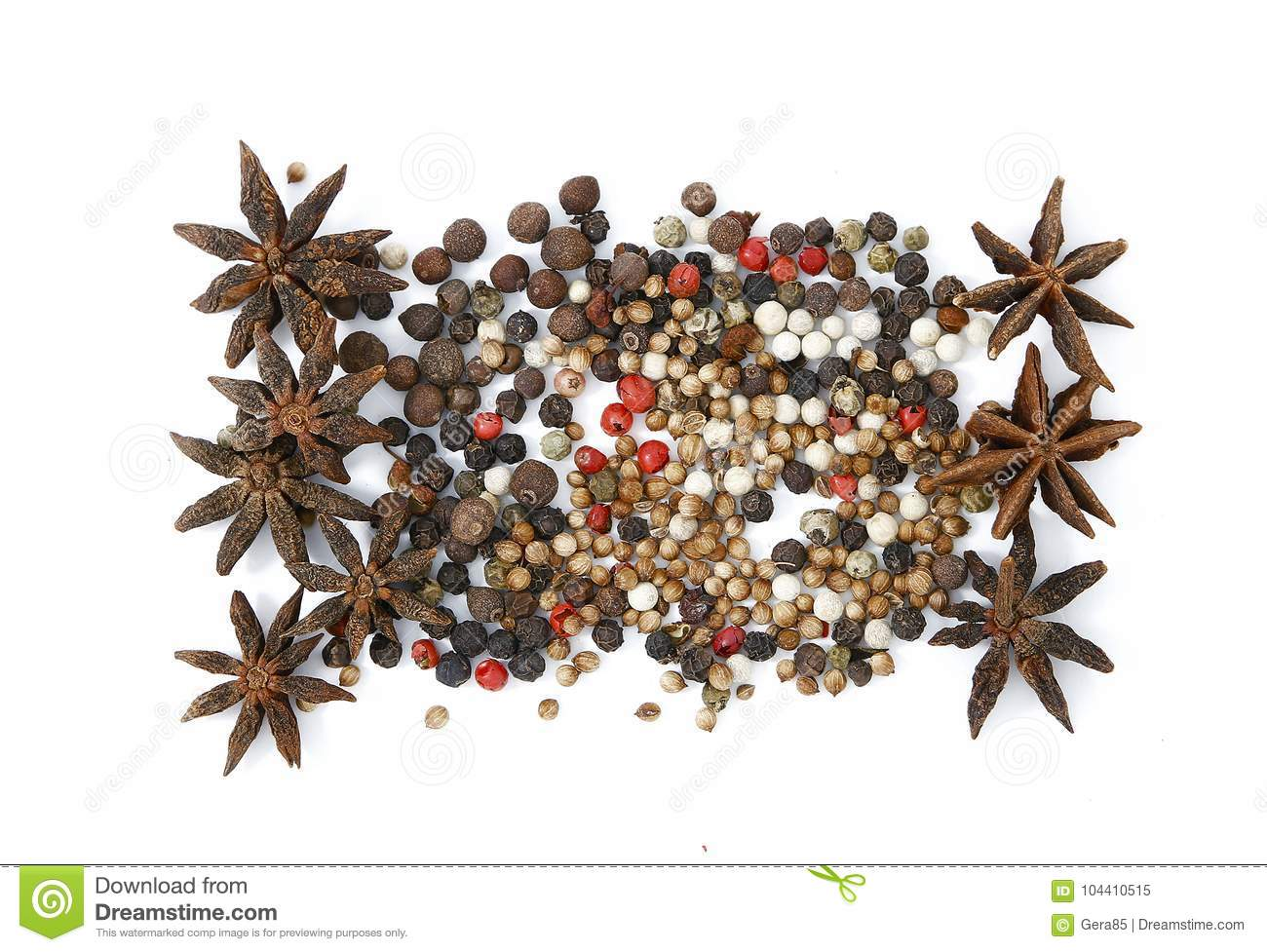 Eastern Spices And Condiments Photo For Micro-stock Stock Image
